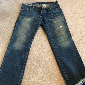 Men's Remsen low rise slim straight Jeans